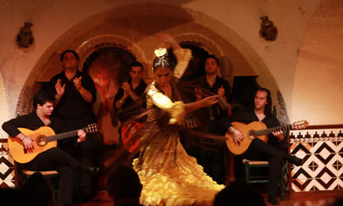 CENA Y ESPECTACULO FLAMENCO