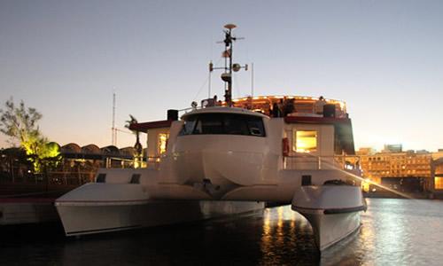 Promenade en Catamaran