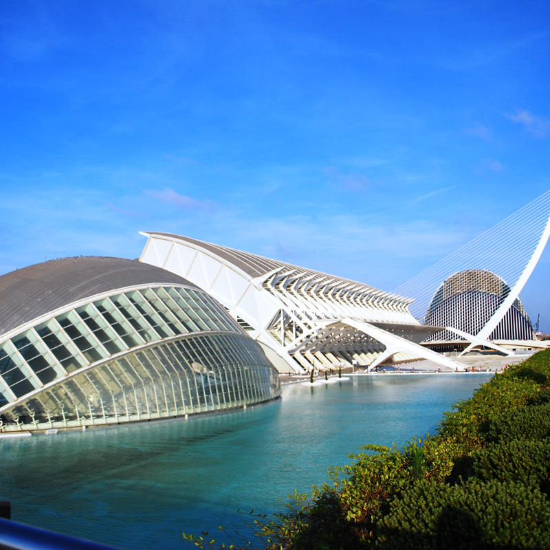 CITY OF ARTS AND SCIENCES AND OCEANOGRAPHIC