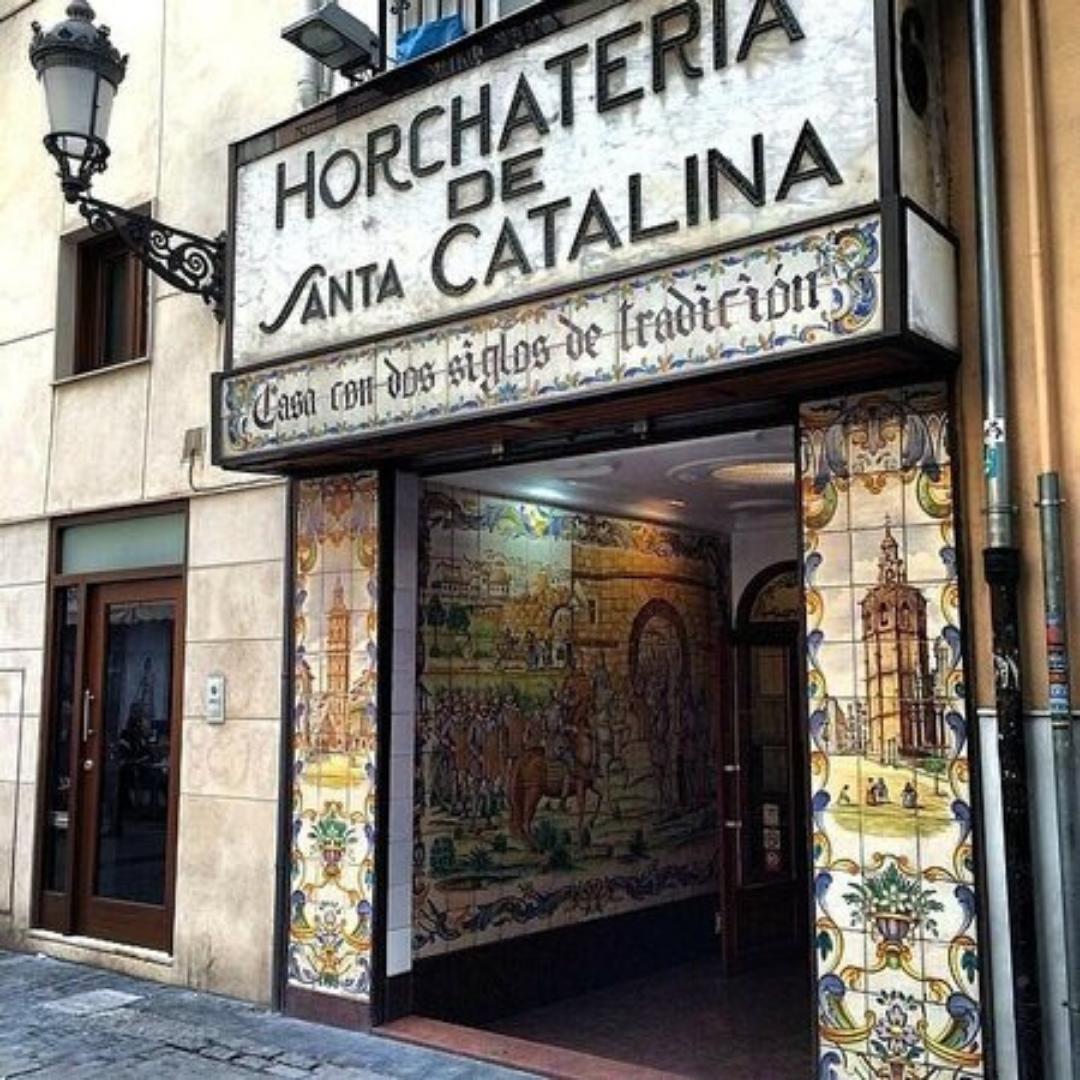 Horchatería Santa Catalina Valencia
