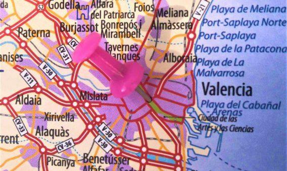 Dónde está Valencia